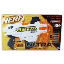 NERF Ultra AMP szivacslövő fegyver 6 db lövedékkel