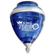 Peonza King Turbo kék