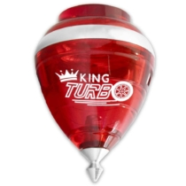 Peonza King Turbo piros