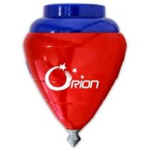 Peonza Orion piros-kék
