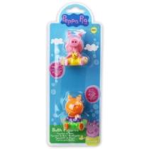 Peppa malac 2 db-os fürdőjáték szett Peppa és Candy cica