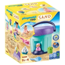 Playmobil 1.2.3 Sand Homokozó szett Cukrászda 10 db-os - 70339