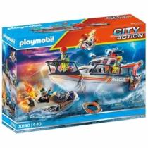 Playmobil City Action Vízimentők akcióban 95 db-os - 70140