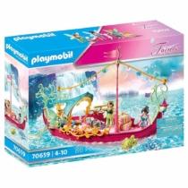Playmobil Fairies Romantikus tündérhajó 86 db-os - 70659