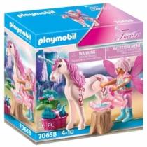 Playmobil Fairies rózsaszín tündér unikornissal 26 db-os - 70658
