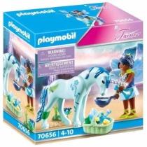 Playmobil Fairies türkiz tündér unikornissal 32 db-os - 70656