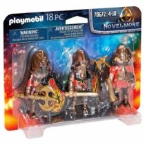 Playmobil Novelmore Burnham lovagok 18 db-os - 70672