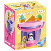 Playmobil Sand Homokozó szett Fagyizó - 9406