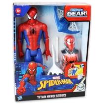 Pókember játékfigura Spider Man Titan Hero Blast Gear kiegészítőkkel 30 cm