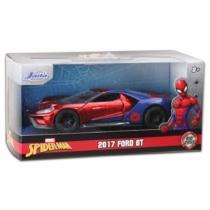 Pókember Spider-man 2017 Ford GT fém autó 1:32