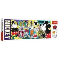 Puzzle A legendás Mickey egér panoráma 500 db-os Trefl
