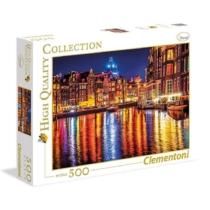 Puzzle Amszterdam 500 db-os Clementoni