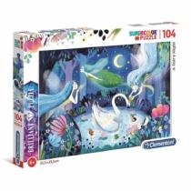 Puzzle Brilliant Tündérek 104 db-os Clementoni