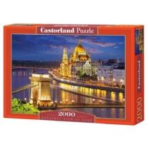 Puzzle Budapest az éjszakában 2000 db-os