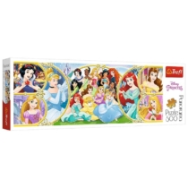 Puzzle Disney hercegnők panoráma 500 db-os Trefl