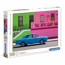Puzzle Kék autó 500 db-os Clementoni