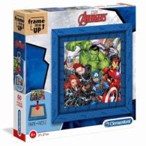 Puzzle képkerettel Bosszúállók Avengers 60 db-os Clementoni