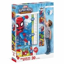 Puzzle mérőszalag Marvel szuperhősök 30 db-os Clementoni