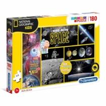 Puzzle National Geographic Kids Űrkutatás 180 db-os Clementoni