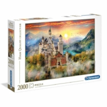 Puzzle Neuschwanstein kastély 2000 db-os Clementoni