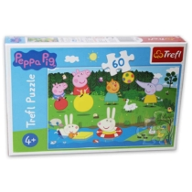 Puzzle Peppa Malac és barátai 60 db-os Trefl