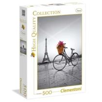 Puzzle romantikus sétány Párizsban 500 db-is Clementoni