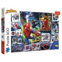 Puzzle Spider-man Pókember poszterek 500 db-os Trefl