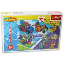 Puzzle Superthings Rivals of Kaboom 30 db-os Trefl