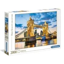 Puzzle Tower Birdge 2000 db-os Clementoni