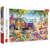 Puzzle Trópusi nyaralás 2000 db-os Trefl
