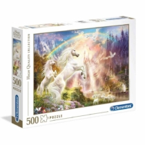 Puzzle Unikornisok naplementében 500 db-os Clementoni
