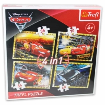 Puzzle Verdák 3 4 az 1-ben Trefl