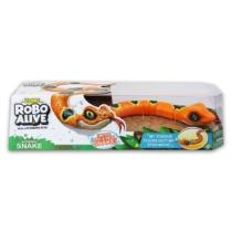 Robo Alive mozgó robot kígyó narancssárga