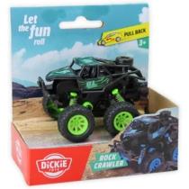Rock Crawler hátrahúzós autó zöld