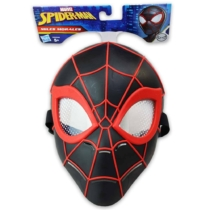 Spider Man Pókember Miles Morales fekete maszk