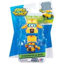 Super Wings Átalakuló játékrepülő, Poppa Wheels (kicsi)