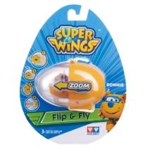 Super Wings Flip & Fly Donnie játékrepülő kilövővel műanyag