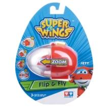 Super Wings Flip & Fly Jett játékrepülő kilövővel műanyag