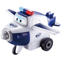 Super Wings Lendkerekes kisrepülő, Police Paul