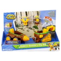 Super Wings munkagépek átalakuló játékrepülőkkel, Todd, Donnie