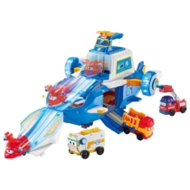 Super Wings Nagy repülőgép játékszett műanyag