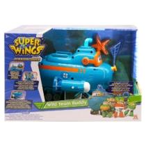 Super Wings Wild Team Buddy Willy játékszett hanggal és fénnyel