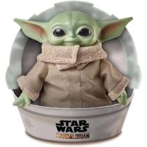 The Mandalorian Grogu Baby Yoda Grogu játékfigura 28 cm