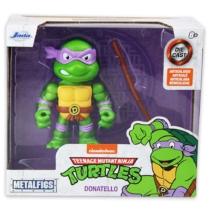 Tini Nindzsa teknőcök Donatello fém játékfigura Bo staff fegyverrel
