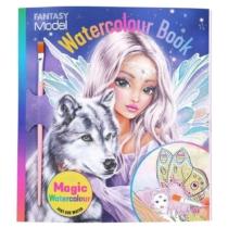 Top model Fantasy Model kifestőkönyv ecsettel