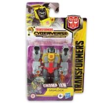 Transformers Bumblebee Cyberverse Chomp Jaw Grimlock átalakítható játékfigura
