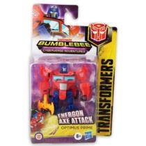 Transformers Bumblebee Energon Axe Attack Optimus Prime átalakítható játékfigura