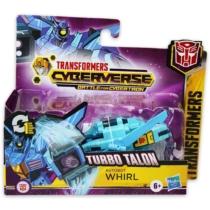 Transformers Cyberverse Turbo Talon Autobot Whirl átalakítható játékfigura