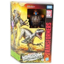 Transformers Kingdom Dinobot átalakítható játékfigura