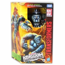 Transformers Kingdom Optimus Primal átalakítható játékfigura